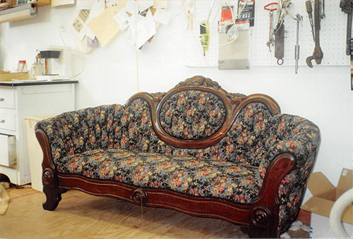 At Divine Divans Born Again Furniture Upholstery Isn T Simply A Hobby Owner Angela Calvert Holds Degree In And Offers Extensive Experience